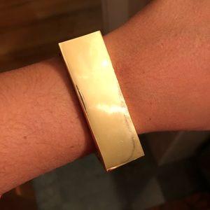 New Gold BaubleBar Bangle